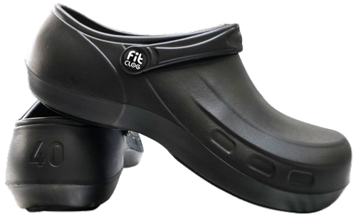 Navy Blue Washable Hospital Clogs SRC slip resistant