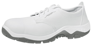 2131 Safety shoe white microfibre uppers acc wave insole
