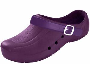 Purple Washable Thermo-Plastic Clogs