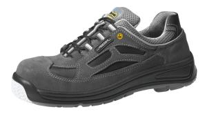 Black Velours ESD Composite toe cap safety trainers 31366