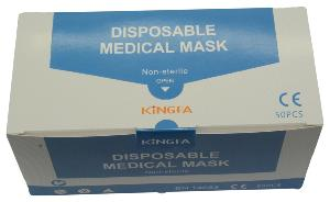 Medical Non Woven Face Masks 3 Ply, Product type I, 99.4 filtration