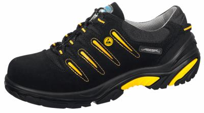 34582 ESD Crawler Safety Trainers velours uppers black/yellow