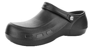 Black EVA Anti-Static Washable Nursing Clogs