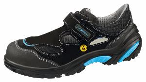 34541 ESD Crawler Safety Trainers velours black uppers