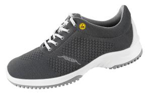ESD Grey Knitted textile pattern uppers safety Trainer 31775