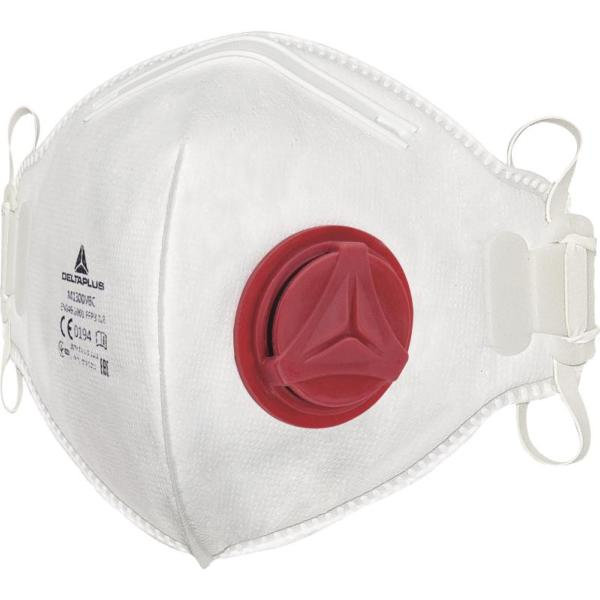 Surgical face mask with visor