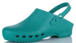 KG064 GREEN Autoclavable 135c Washable clogs 90c (KG064)