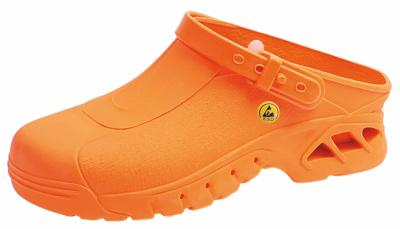 39630 ESD Orange Washable & Autoclavable clog