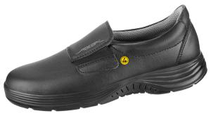 Black ESD Microfibfre Slip on SAFETY Shoe SRC 7131129