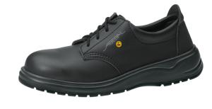 Black ESD Microfibfre Lace up SAFETY Shoe 31027