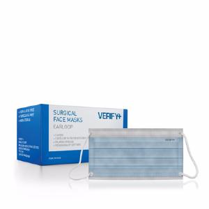 Verify+ SURGICAL FACE MASKS (EAR LOOP) BOX 50