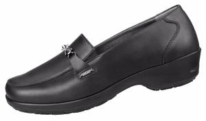 Black ESD Microfibre Slip on Ladies SRC SLIP  300119