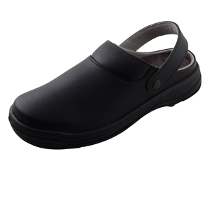 Black Microfibre Washable Nursing Clogs