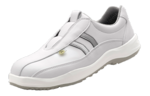 White ESD Microfibre Slip-On Sport Safety shoes