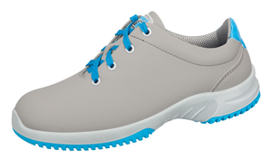 6782 Microfibre lace up shoe grey/blue
