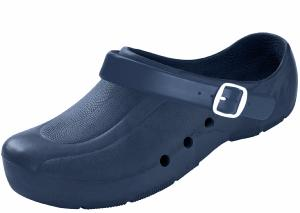 Blue Washable Plastic Clogs
