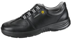 ESD Black Smooth Leather Lace up SAFETY Shoe 7131038