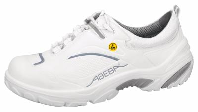 34500 ESD Crawler Safety Trainers white/grey microfibre seamless uppers