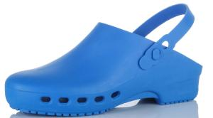KG065 BLUE Autoclavable 135c Washable clogs 90c (KG065)