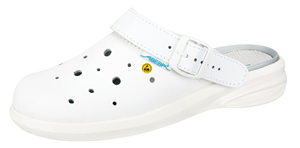 37630 White Smooth leather upper ESD