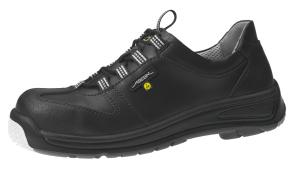 ESD Black Smooth Leather Lace up SAFETY Shoe 31362