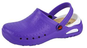 Purple Washable Clogs