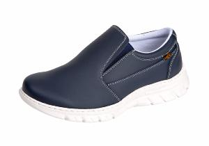 Navy Washable Hospital shoes SRC Anti Slip - Anti-static  ( END OF LINE ) Restricted sizes