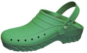 Green Washable Autoclavable thermo plastic nursing clogs (02/SV Green)