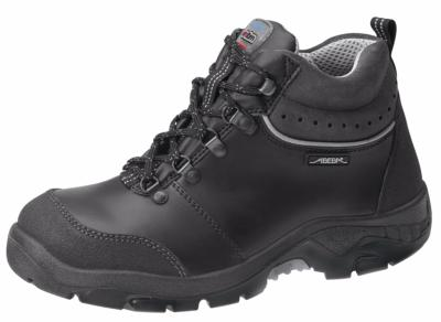 2268 Safety boot black Metal FREE smooth leather uppers