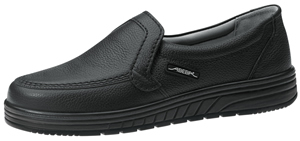 2710 Unisex slip on shoe black