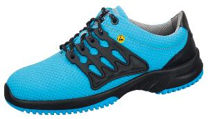 31762 ESD Functional leather SAFETY trainer blue  shoe