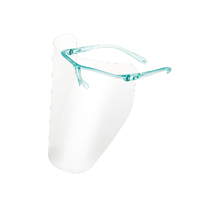 Single use surgical face visors