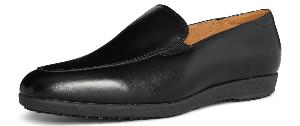 Carolina Ladies Black Leather Slip on Work Shoes