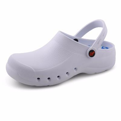 EVA-Plus White washable comfort nursing clogs