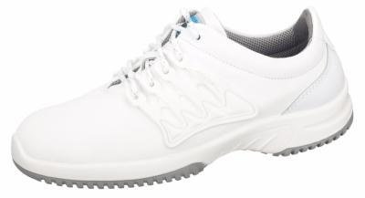 1760 Functional leather trainer white safety shoe