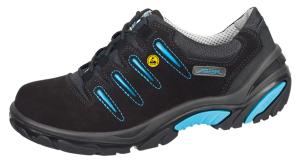 ESD Black Velours Composite toe cap safety trainers 34581