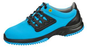 Blue Functional leather honeycomb pattern Trainer 36762