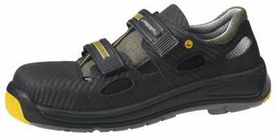 1275 Safety shoe black breathable upper acc wave insole