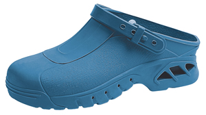 9610 Blue Washable & Autoclavable thermo plastic nursing clogs