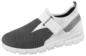 Grey Textile Trainers
