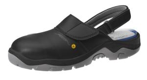 ESD Black Microfibre Safety Clogs with removable insole 32125